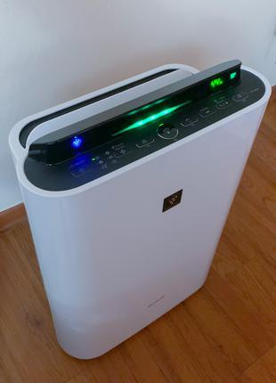 Очиститель и увлажнитель воздуха 2-в-1 SHARP KCD40EUW