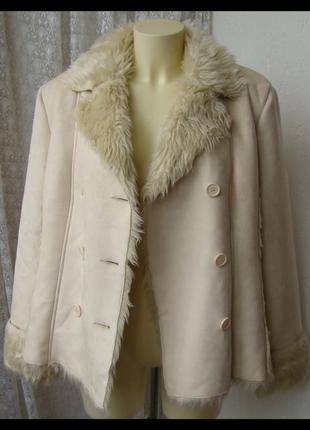 Дубленка женская модная теплая нарядная бренд cecilia classic ...