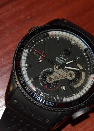 TAG Heuer Grand Carrera часы Автоподзавод б/у ремешок порван