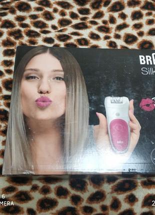 Эпилятор Braun Silk-epil Bibi edition, новый