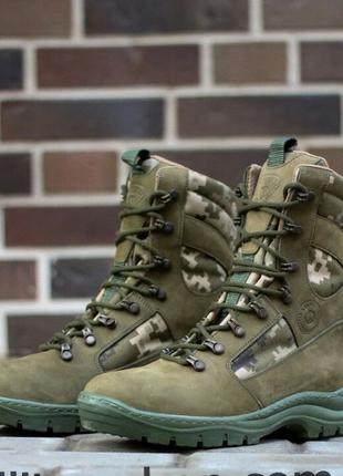 Берцы демисезонные STIMUL Олива. Военная / Тактическая обувь