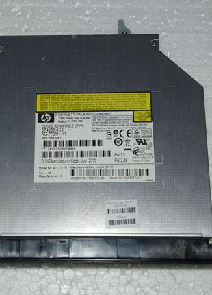 DVD/CD привод з ноутбука HP COMPAQ Presario CQ62