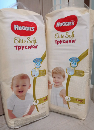 Трусики Huggies elite soft 4