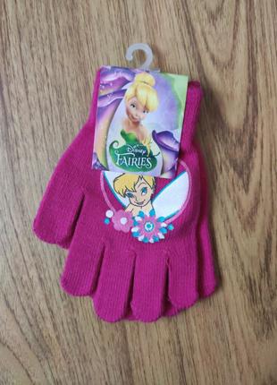 Перчатки детские Фея Динь Динь Скай Эльза Пони