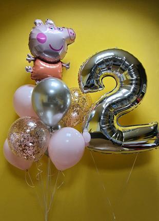 Повітряні кульки, воздушные шары с гелием