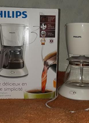 Капельная кофеварка Philips + фильтры