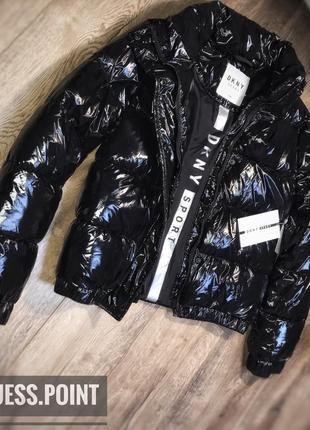 Куртка, пуховик, puffer jacket, осенняя, зимняя от donna karan