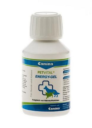 PETVITAL Energy-Gel 100ml для быстрого восстановл. д/кошек и соб.