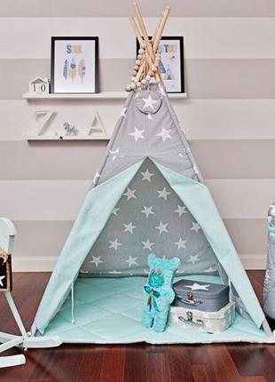 Вигвам, детский шалаш, домик, шатер для ребенка, детская палатка