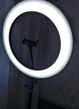 ХИТ ПРОДАЖ 36 см Кольцевая лампа для парикмахера, визажиста, б...