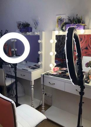 Кольцевая лампа 36 см,кольцо,лед свет,лампа для селфи,визажистов