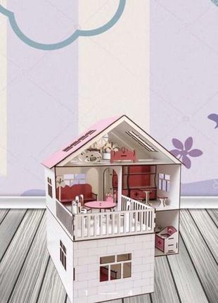 Кукольный домик для Барби, ЛОЛ, Хэрдораблс, Монстер Хай. Дом д...