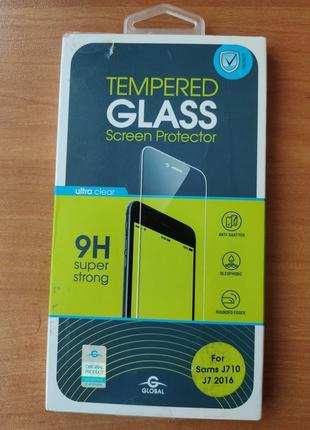 Защитное стекло Samsung J7 (J710 )
