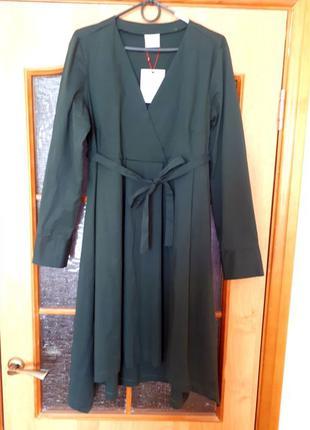 Осеннее платье-рубашка для беременных