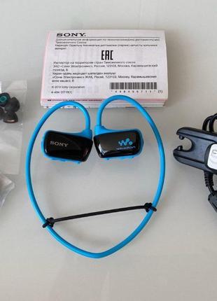 Mp3 плеєр Sony Walkman NWZ-W274 Blue 8 Gb