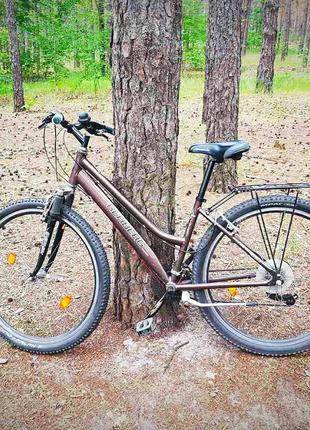 Велосипед найнер женский для леса, бездорожья города и асфальта