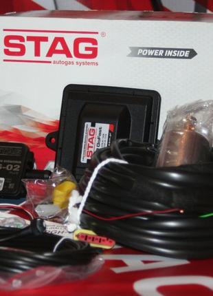 Электроника ГБО Stag GoFast 200 ЕВРО 4 Полная Новая, Мозги, ЭБУ