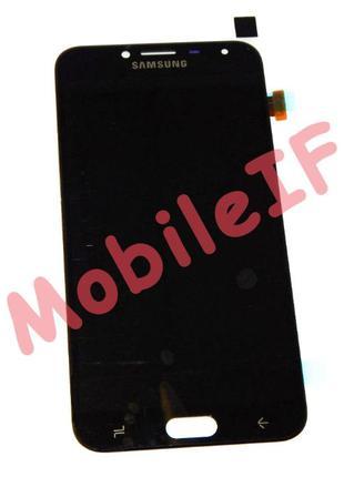 Модуль Samsung J400 J4 2018 OLED Дисплей+Сенсор LCD Black