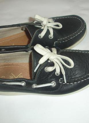 Фирменные next кожаные туфли мокасины мальчику 31 размер отлич...