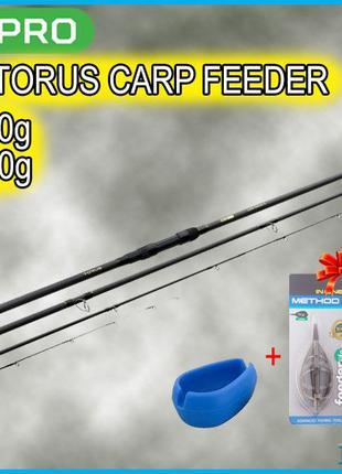Фидерно-карповое удилище Carp Pro Torus CarpFeeder 3.9м 150г/4...