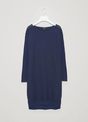 Шерстяна сукня-кокон cos p. xs