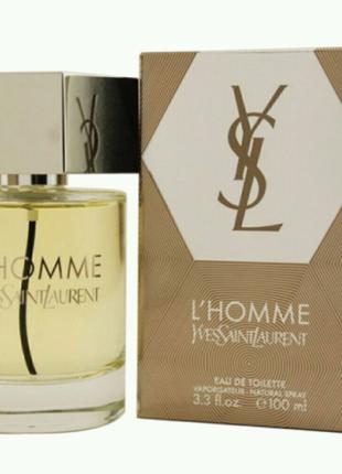 Yves Saint Laurent L'HOMME 100 мл мужской