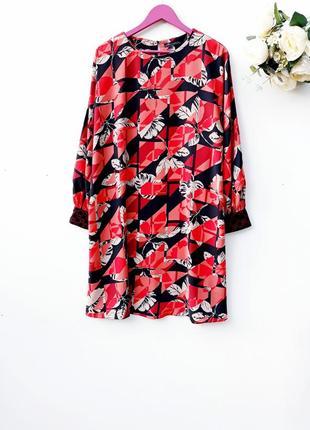 Ексклюзивное шикарное платье миди яркое платье большой размер ...