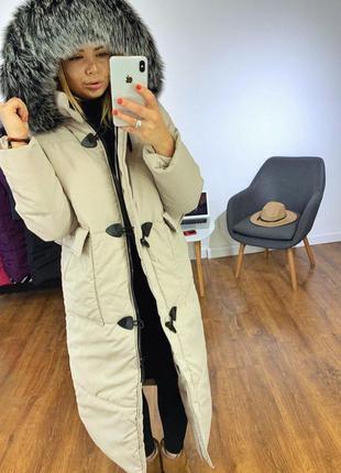 Зимний пуховик куртка  женский, куртка пуховик зима