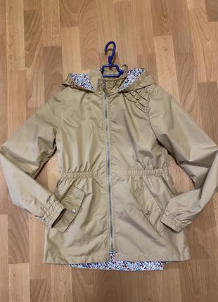 Куртка плащ тренч на девочку 10-13 лет