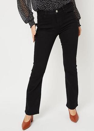 Новые базовые стрейч джинсы размера l высокий рост