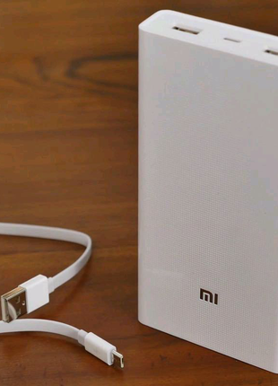 Power bank Xiaomi 20000mAh 2 USB мощный повербанк