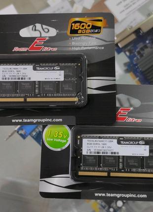 Оперативная память Team DDR3L 8Gb 1600MHz