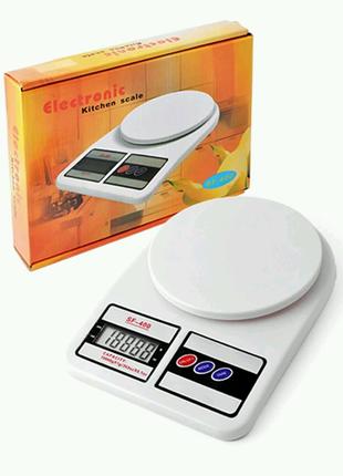 Кухонные электронные весы Sf-400 на 7кг