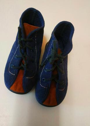 Замшевые фирменные немецкие ботинки, кроссовки rohde, 23 размер