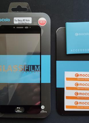 Защитное стекло MOCOLO для Meizu M3 Note Black