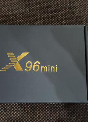 X96mini 2/16 смарт ТВ приставка, android-tv Box