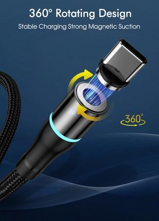 Магнитный зарядный кабель ROCK   Micro USB