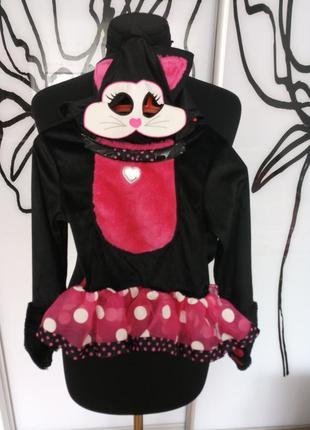 Карнавальный, костюм на хеллоуин кошечка, кошка, котенок