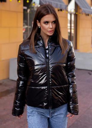 """Стильная куртка женская осень-зима """" moncler"""" черная"""