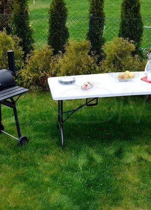 Складной туристический стол 180 см, для кемпинга, садовый раск...