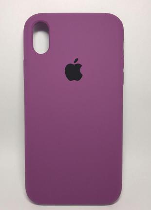 Задня накладка iPhone XR Original Soft Case Purple