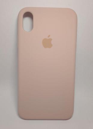Задня накладка iPhone XR Original Soft Case Pink Sand