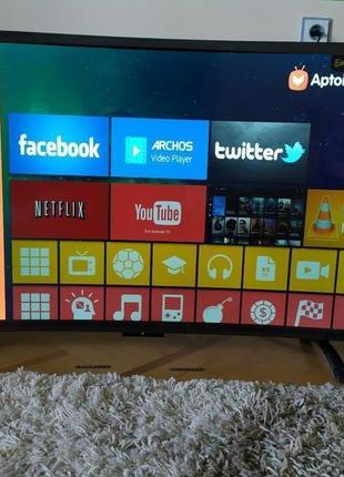 "Телевизор LED 32""Smart TV изогнутый/пр Т2+USB+HDMI 42,50,55"""