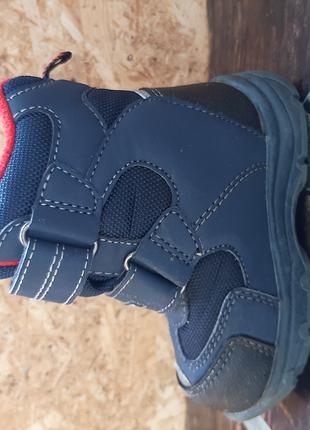 Тёплые зимние ботинки детские