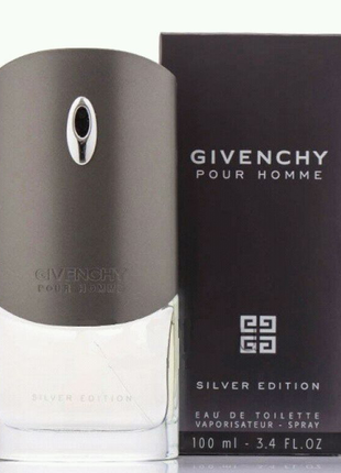 Givenchy Pour Homme Silver Edition 100 мл МУЖСКОЙ