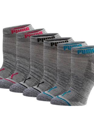 Спортивные носки Puma Low Cut Side. Оригинал