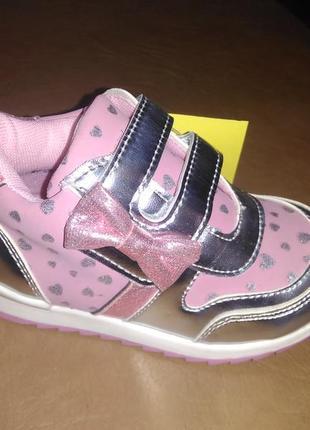 Высокие кроссовки 21-26 р. с.луч на девочку, ботинки, кросовки...