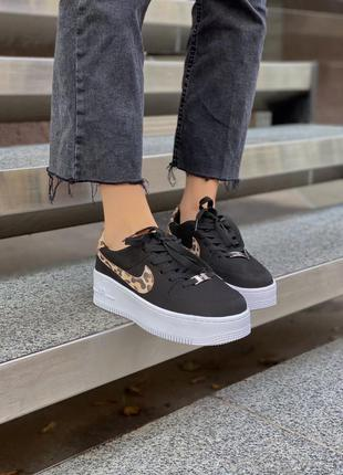Кросівки nike air force leopard кроссовки