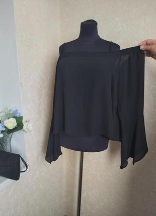 Шифоновая блуза new look 16-18  р.