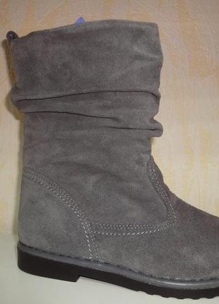 Демисезонные замшевые утепленные ботинки 40 р. inblu женские и...